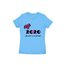 Load image into Gallery viewer, Bat and 2020 - Short-Sleeve Women's T-Shirt - Tee-Zoo