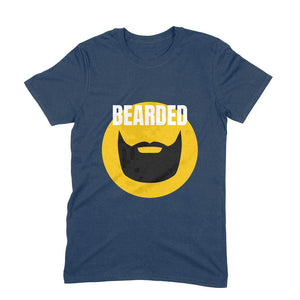 Bearded - Short-Sleeve Men's T-Shirt - Tee-Zoo