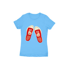 Load image into Gallery viewer, Sneakers - Short-Sleeve Women's T-Shirt - Tee-Zoo