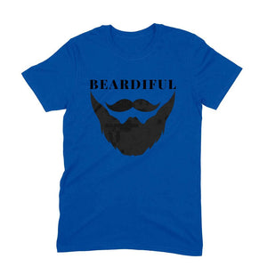 Beardiful Beard T-Shirt - Short-Sleeve Men's T-Shirt - Tee-Zoo