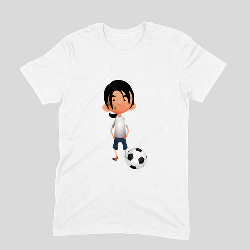Messi & Football - Short-Sleeve Men's T-Shirt - Tee-Zoo