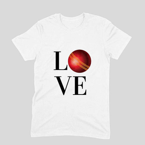 Cricket Love - Short-Sleeve Men's T-Shirt - Tee-Zoo