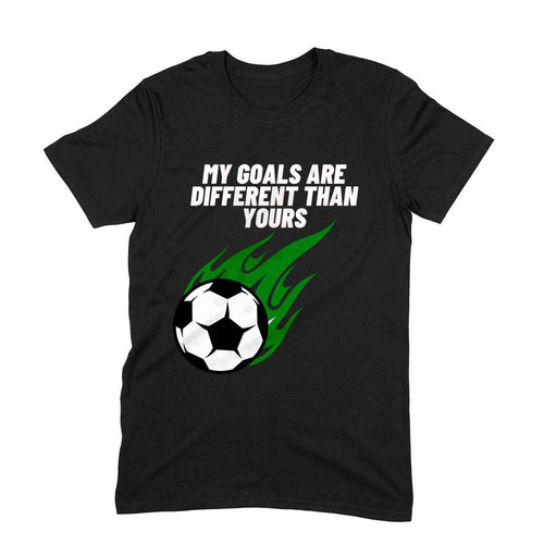 Football Different Goals - Short-Sleeve Men's T-Shirt - Tee-Zoo