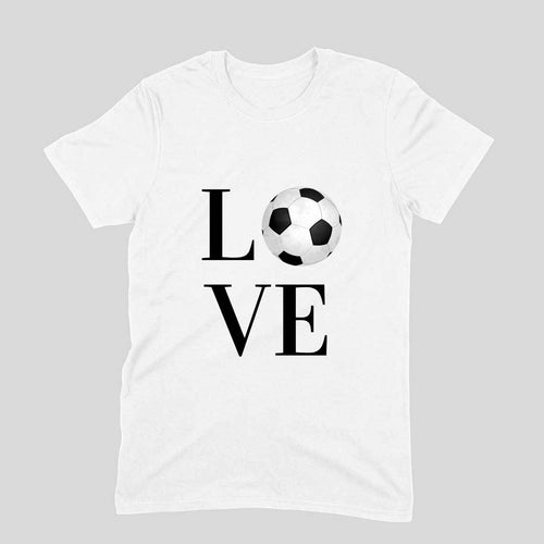 Football Love - Short-Sleeve Men's T-Shirt - Tee-Zoo