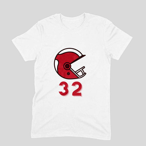 Player No-32 - Short-Sleeve Men's T-Shirt - Tee-Zoo
