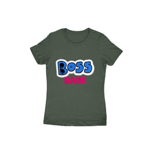 Boss Babe - Short- Sleeve-Women's T-shirt - Tee-Zoo