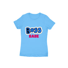 Load image into Gallery viewer, Boss Babe - Short- Sleeve-Women's T-shirt - Tee-Zoo