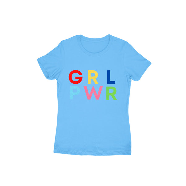 Girl Power - Short- Sleeve-Women's T-shirt - Tee-Zoo