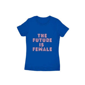 The Future Is Female - Short- Sleeve-Women's T-shirt - Tee-Zoo