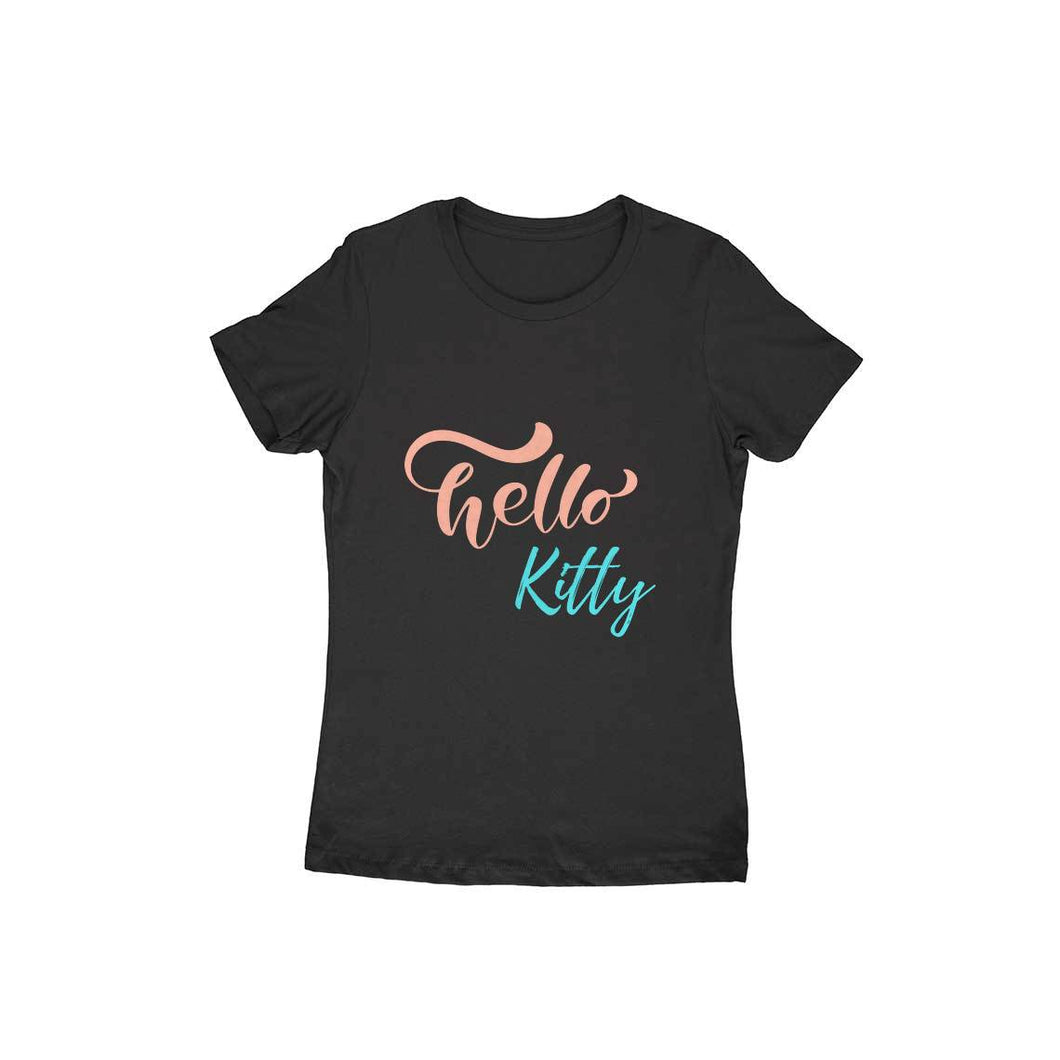 Hello Kitty - Short- Sleeve-Women's T-shirt - Tee-Zoo