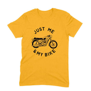 Me & My Bike - Short-Sleeve Men's T-Shirt - Tee-Zoo