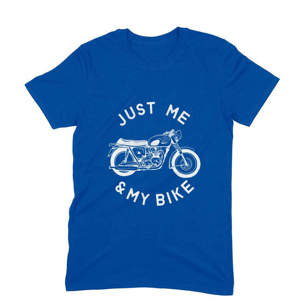 Me & My Bike 101 - Short Sleeve Men's T-Shirt - Tee-Zoo