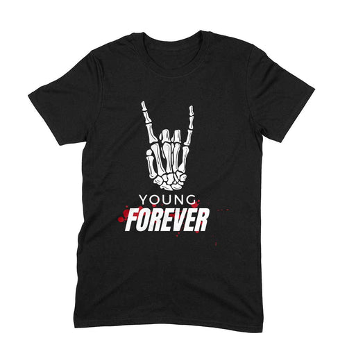 Forever Young - Short-Sleeve Men's T-Shirt - Tee-Zoo