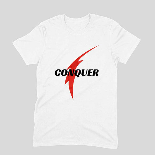 Conquer Tee - Short-Sleeve Men's T-Shirt - Tee-Zoo