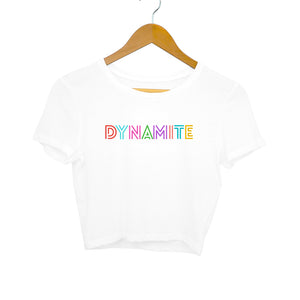 BTS Dynamite - Women's Crop Top - Tee-Zoo