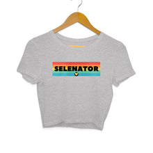 Load image into Gallery viewer, Selenator - Women's Crop Top - Tee-Zoo