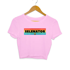 Selenator - Women's Crop Top - Tee-Zoo