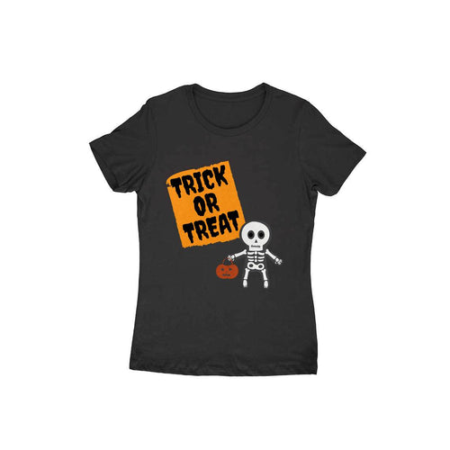Trick or Treat - Short- Sleeve-Women's T-shirt - Tee-Zoo