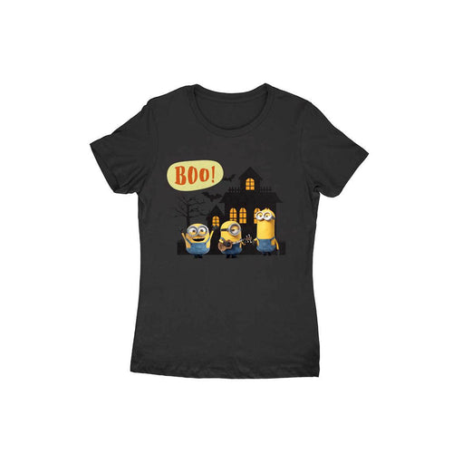 Halloween Minions - Short-Sleeve Women's T-Shirt - Tee-Zoo