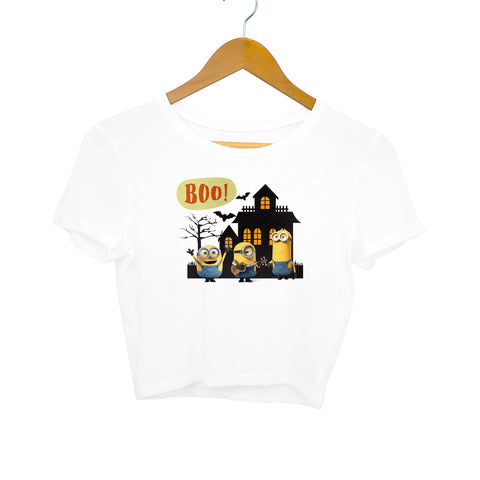Halloween Minions - Women's Crop Top - Tee-Zoo
