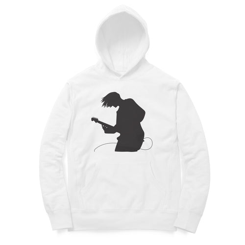 Electric Guitar - Full Sleeve Men's Hoodie - Tee-Zoo