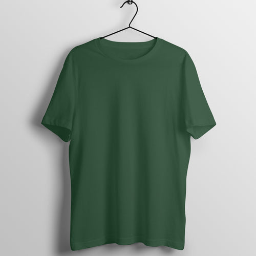 Solid Olive Green Tshirt - Short Sleeve Men's T-Shirt - Tee-Zoo