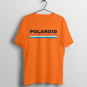 Polaroid Tshirt - Short Sleeve Men's T-Shirt - Tee-Zoo