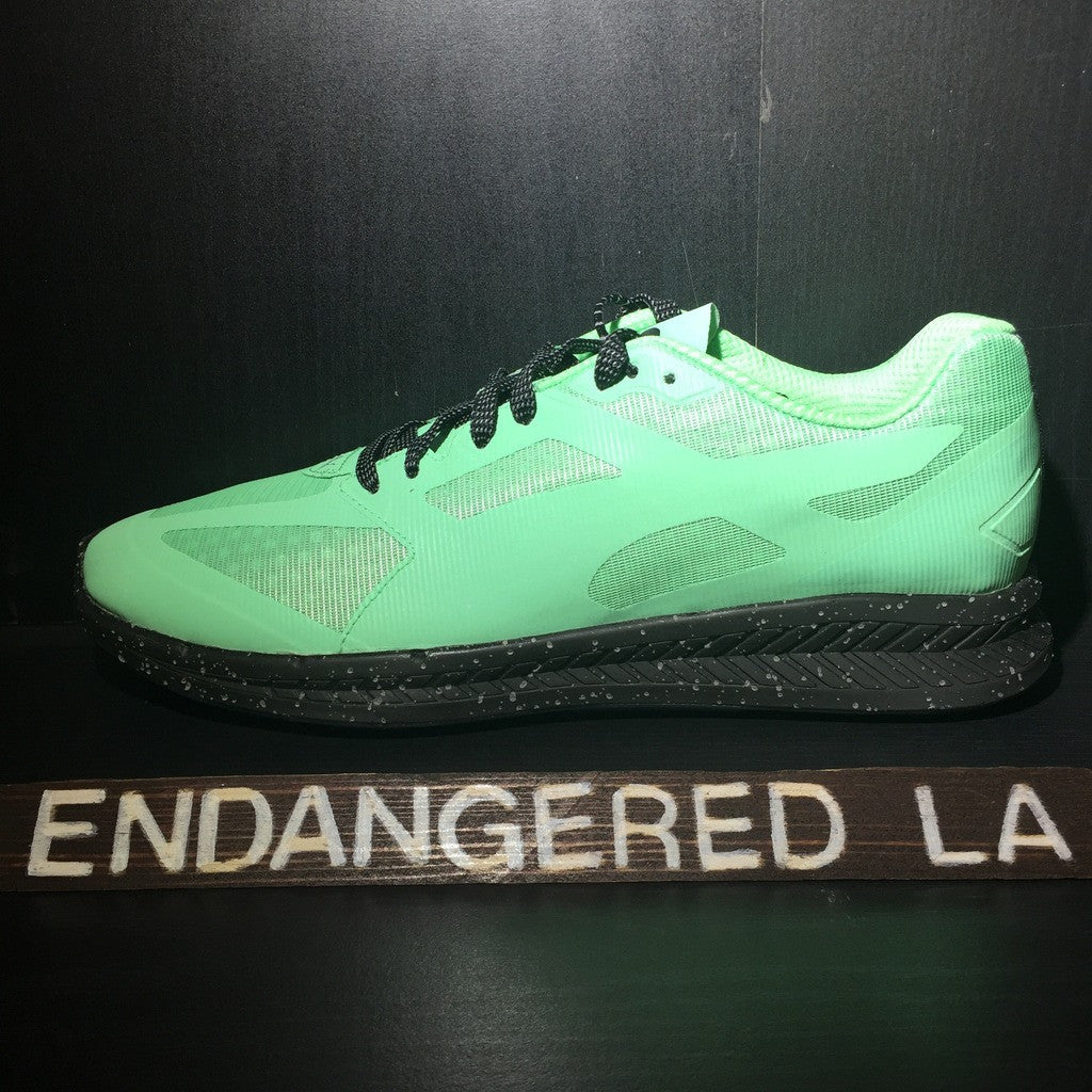Puma ICNY Bouquet Green Sz 9