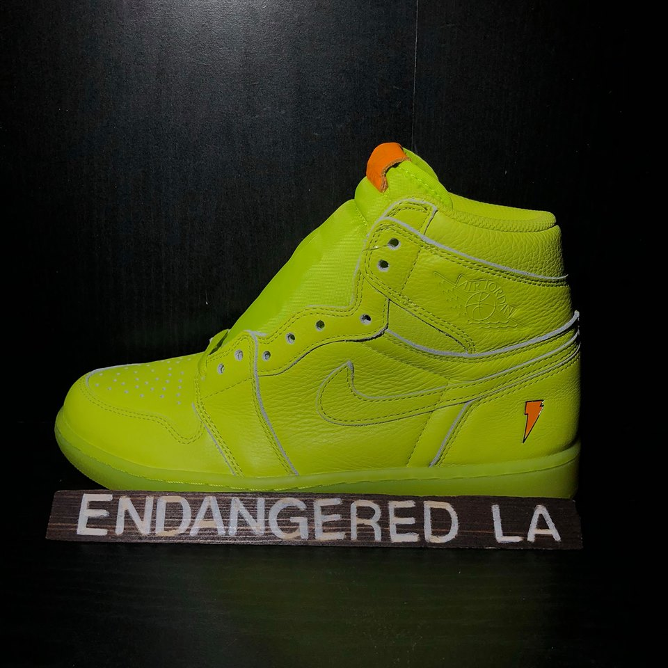 Air Jordan 1 Gatorade Green Sz 8.5