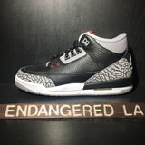 Air Jordan 3 Black Cement 18' Sz 4