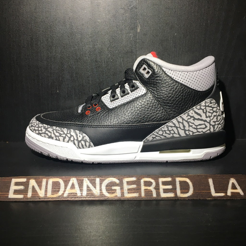 Air Jordan 3 Black Cement 18' Sz 4.5