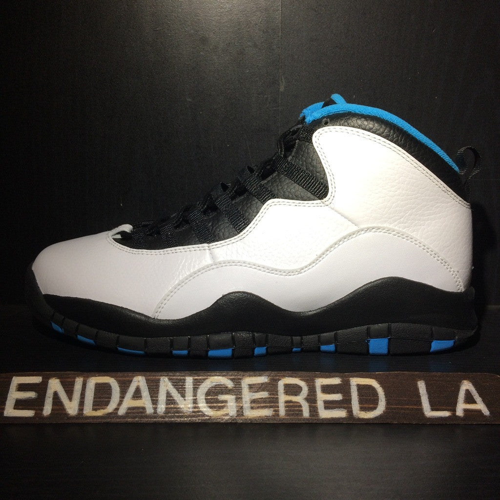 Air Jordan 10 Powder Blue Sz 10.5