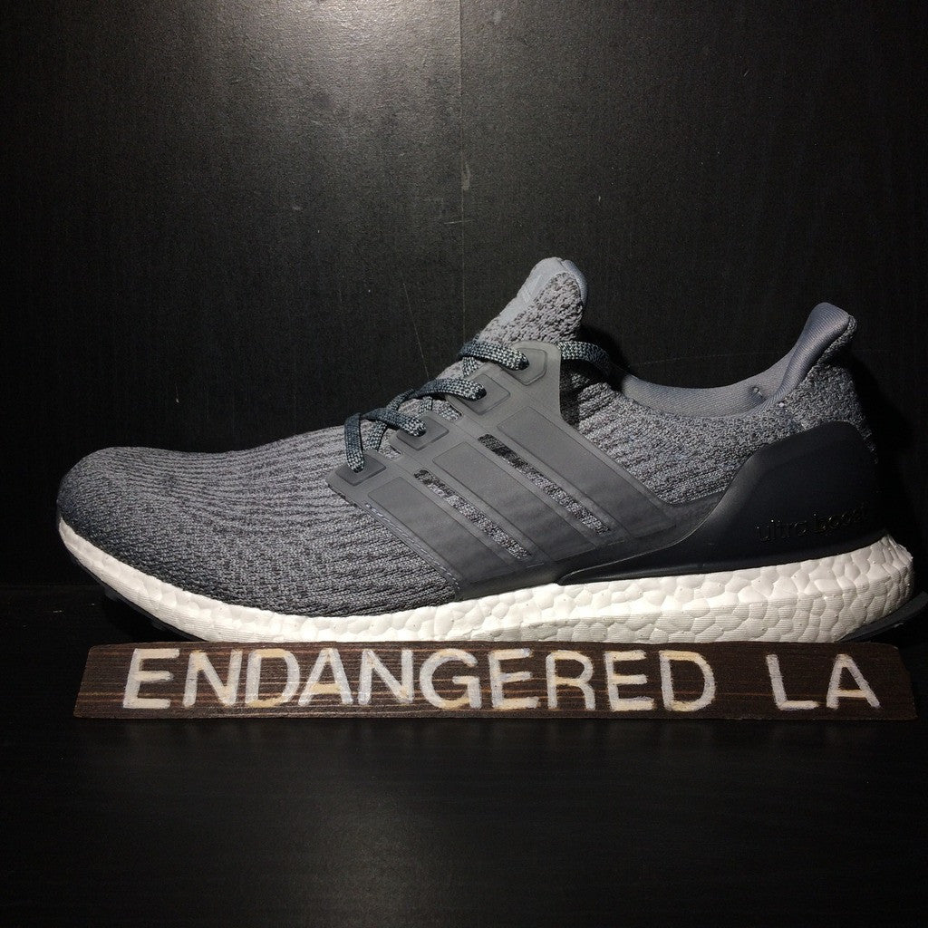 240aa3bb00660 Adidas Ultra Boost 3.0 Mystery Grey Sz 9.5