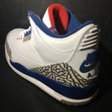 Air Jordan 3 True Blue 16' Sz 10