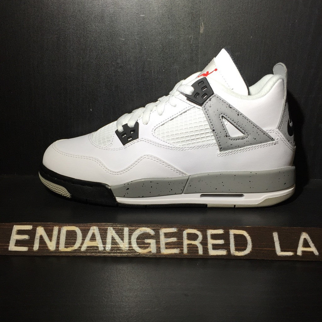 Air Jordan 4 White Cement 2016 Sz 4.5y