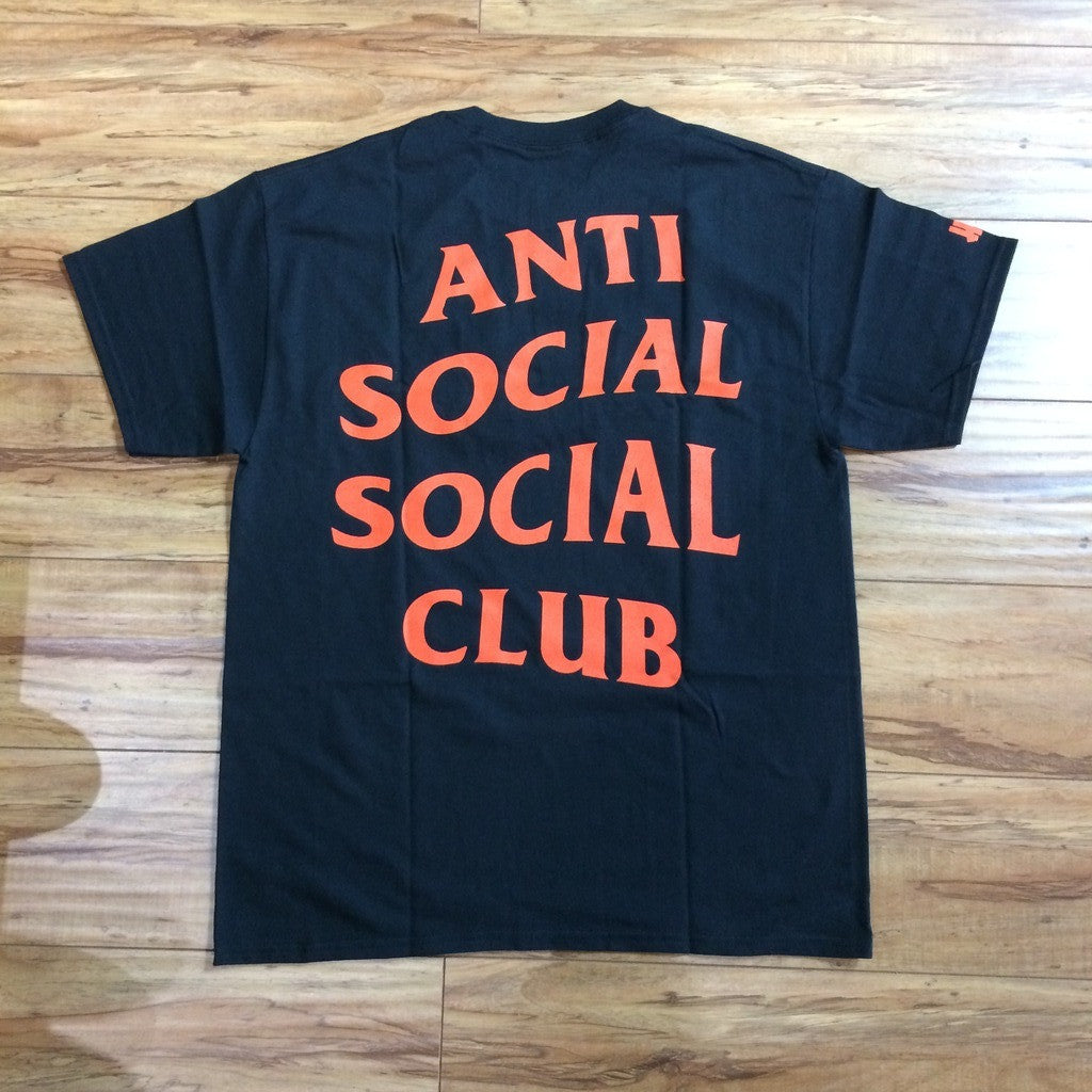 Anti Social Club x UNDFTD Paranoid Shirt Sz XL