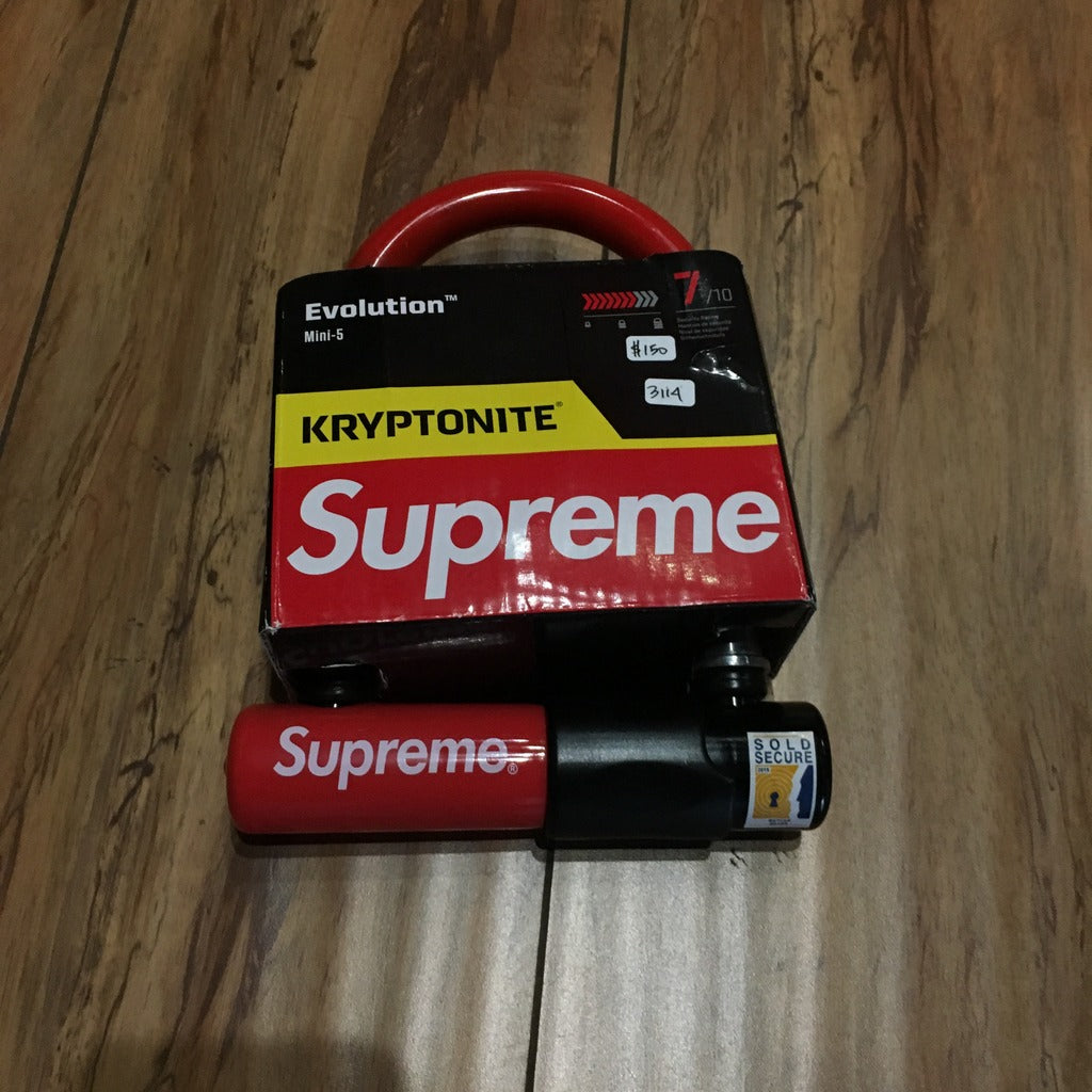 Supreme Kryptonite U Lock F/W 15'
