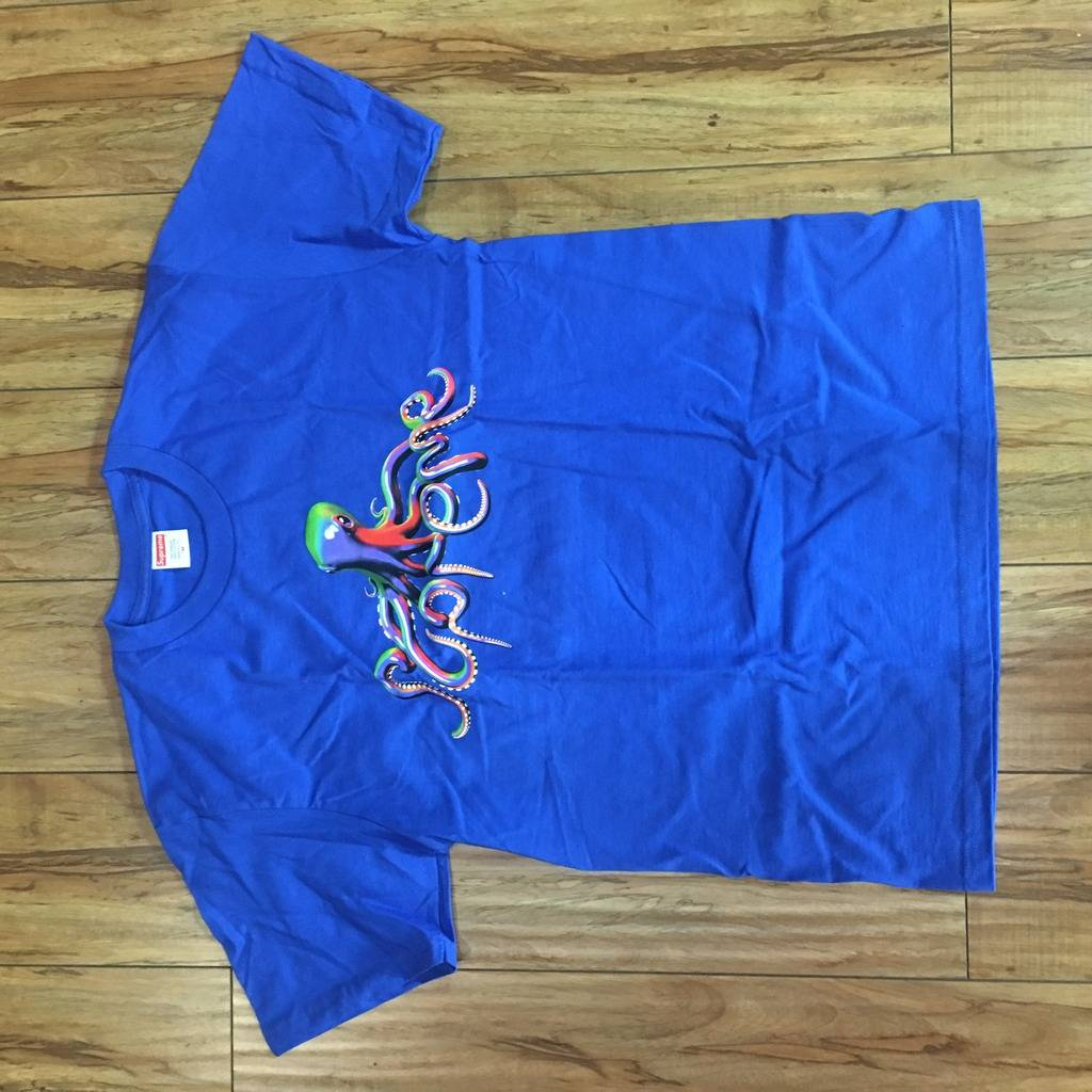 Supreme Tentacles Tee Royal Blue S/S 18' Sz M