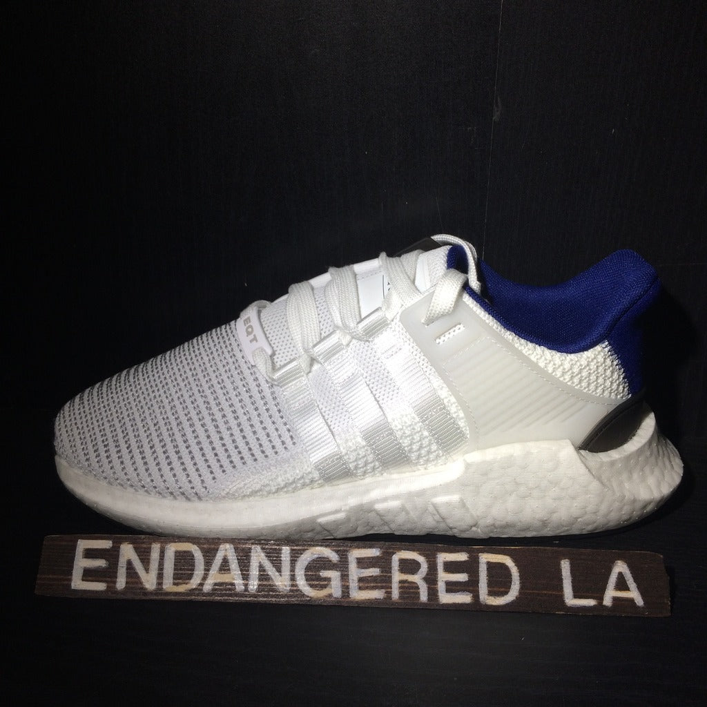 Adidas EQT 93/17 White and Blue Sz 8