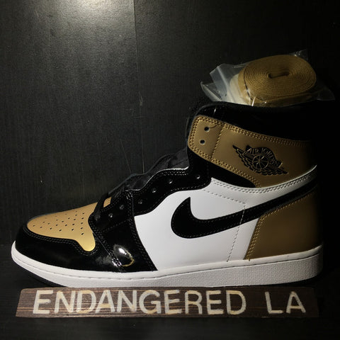 Air Jordan 1 Gold Toe Sz 13