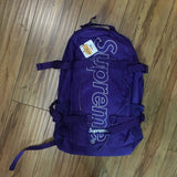 Supreme Backpack Purple F/W 18'
