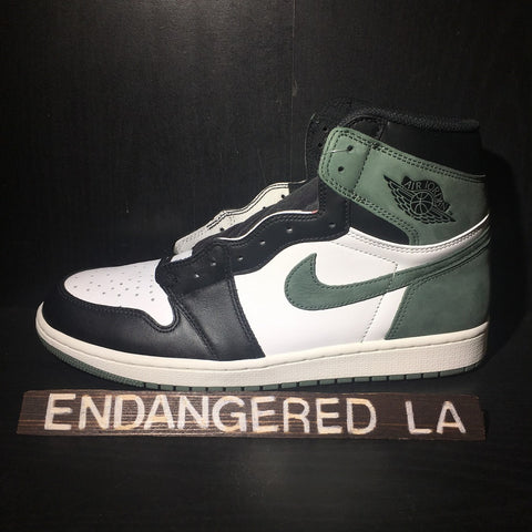 Air Jordan 1 Clay Green Sz 10.5