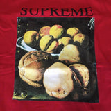 Supreme Still Life Tee F/W 18' Red Sz M