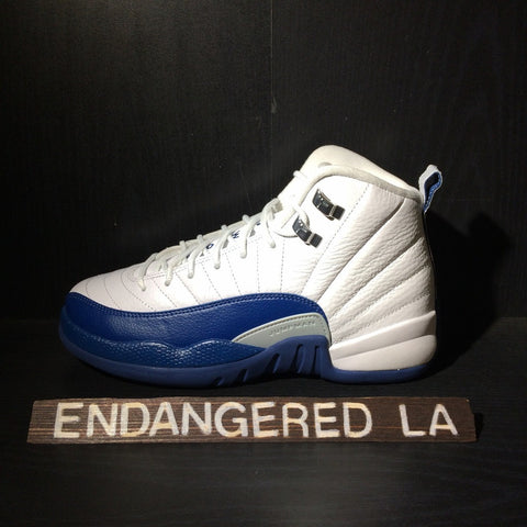 Air Jordan 12 French Blue Sz 4