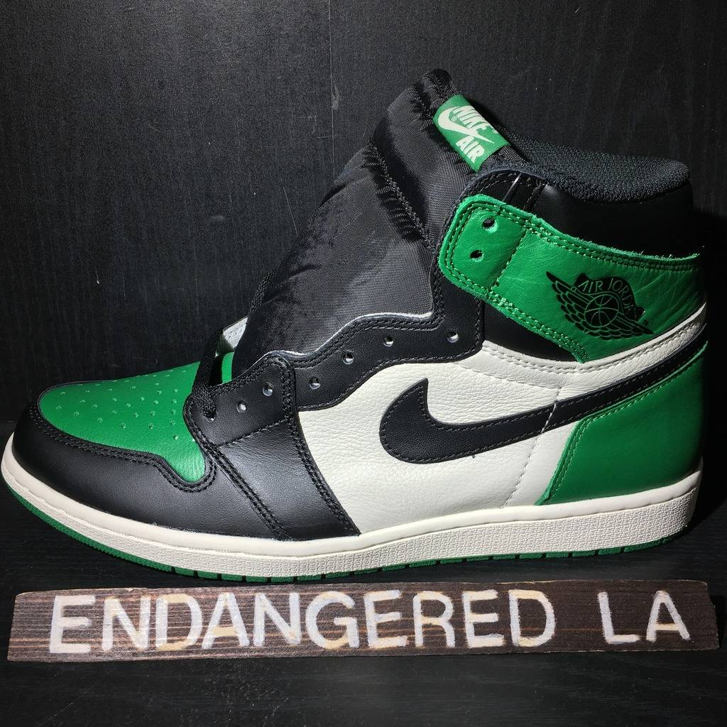 ee100943841fe2 Air Jordan 1 Pine Green Sz 12