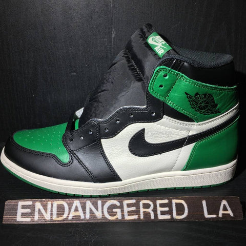 Air Jordan 1 Pine Green Sz 13
