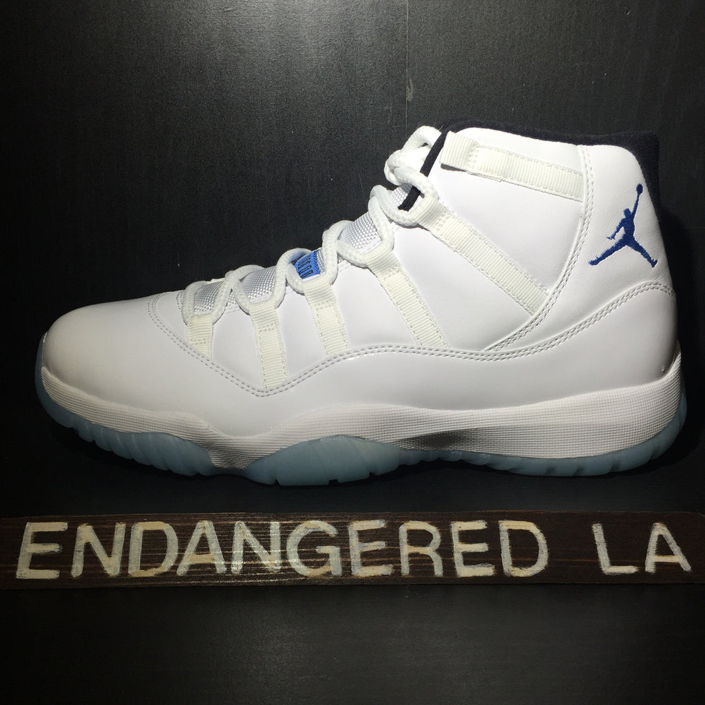 Air Jordan 11 Legend Blue Sz 9