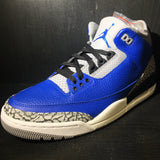 Air Jordan 3 Blue Cement Sz 8