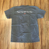Supreme Feed Me With Your Kiss Tee Warm Grey S/S 20' Sz L