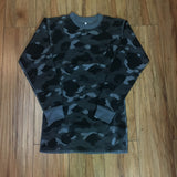 Bape L/S Thermal Camo Sz M